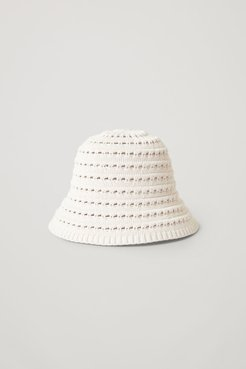 KNITTED COTTON-SILK HAT