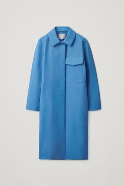 RAINCOAT WITH PATCH POCKET