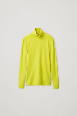 ROLL NECK WOOL TOP