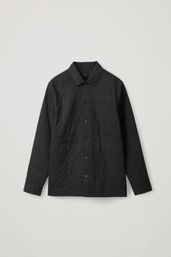 QUILTED COTTON SHIRT
