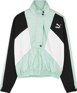 Tailored For Sport mint shell track jacket
