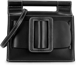 Romeo Big Stitch small leather cross-body bag