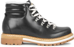 Marlena anthracite leather hiking boots
