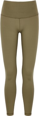Don't Look Long Tight army green leggings