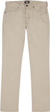 Federal stone straight-leg jeans