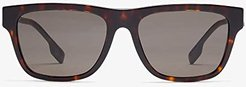 0BE4293 (Dark Havana/Brown) Fashion Sunglasses