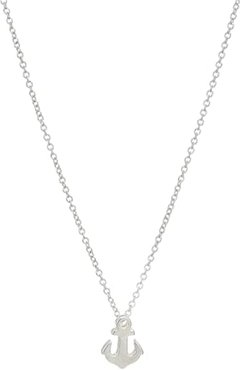 Friendship Anchor Reminder Necklace (Sterling Silver) Necklace
