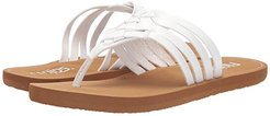 Elena (White/Tan) Women's Shoes
