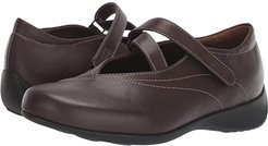 Passion (Cafe Smooth Leather) Women's Flat Shoes