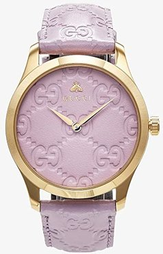 G-Timeless - YA1264098 (Purple/Gold) Watches