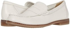 Wren Loafer PF (Ivory Leather) Women's Shoes