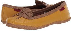 Duck Skimmer (Mustard) Women's Flat Shoes