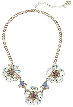 Flower Frontal Necklace (Multi) Necklace