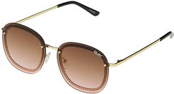 Jezabell Chain (Gold/Brown Pink) Fashion Sunglasses