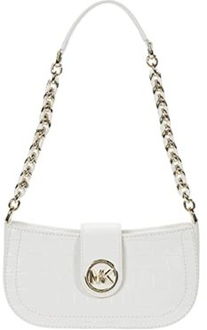 Carmen Extra Small Pouchette (Optic White) Handbags