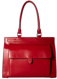 Audrey RFID Eileen Large Brief (Red) Handbags