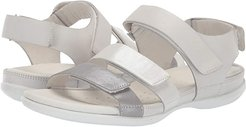 Flash Flat Sandal (Wild Dove/White Shadow/White Cow Leather/Cow Leather/Cow Nubuck) Women's Sandals