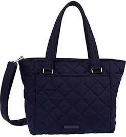 Performance Twill Multi-Strap Shoulder Bag (Classic Navy) Handbags