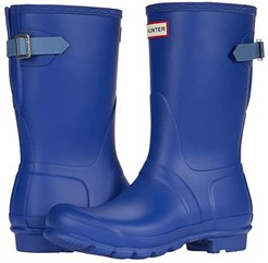 Original Short Back Adjustable Rain Boots (Cuttle Blue/Gill Wave) Women's Rain Boots
