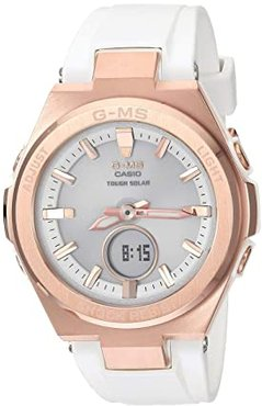 MSGS200G-7A (White/Rose Gold) Watches