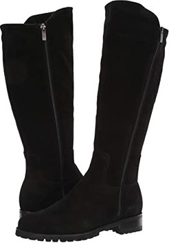 Susan (Black Suede) Women's Dress Pull-on Boots