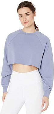 Double Take Pullover (Blue Moon) Women's Clothing