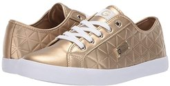Oking (Gold) Women's Lace up casual Shoes
