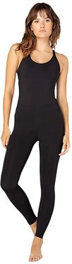 Play The Angles Bodysuit (Black) Women's Jumpsuit & Rompers One Piece
