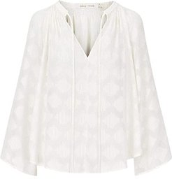 Willow Blouse (Pearl) Women's Clothing