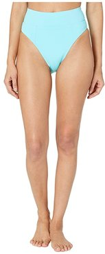 Color Code Tanya French Cut High Leg Bottoms (Sea) Women's Swimwear