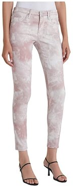 Leggings Ankle in Abstract Tie-Dye Rocky Mauve (Abstract Tie-Dye Rocky Mauve) Women's Jeans