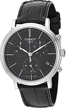 Carson Premium Chronograph - T1224171605100 (Black) Watches