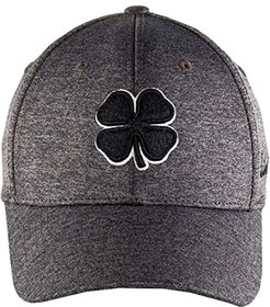 Lucky Heather Hat (Black Clover/White Trim/Charcoal) Baseball Caps