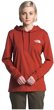 Peaceful Explorer Heavyweight Pullover Hoodie (Ketchup Red) Women's Clothing
