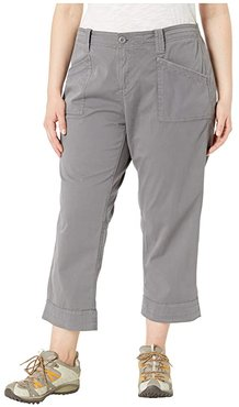 Plus Size Arden V2 Slimmer (Quiet Shade) Women's Casual Pants
