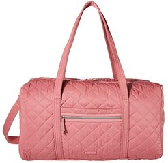 Performance Twill Lay Flat Travel Duffel (Strawberry Ice) Carry on Luggage
