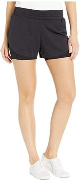 Rep 3 2-In-1 Shorts (Black) Women's Shorts