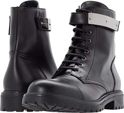 Connors Lace-Up Boot (Black) Men's Shoes