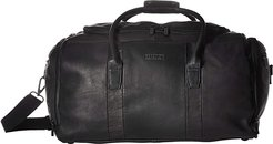 Colombian Leather Duffel (Black) Luggage