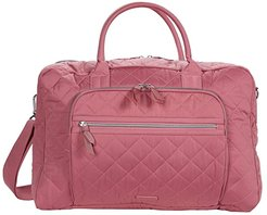 Performance Twill Lay Flat Weekend Bag (Strawberry Ice) Bags