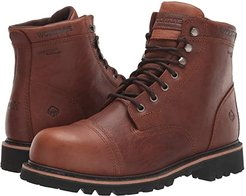 Journeyman 6 Boot (Brown) Men's Work Lace-up Boots