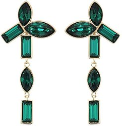 Bamboo Pierced Earrings Jackets (Erinite/Emerald) Earring