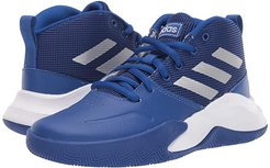 Own The Game Wide Basketball (Little Kid/Big Kid) (Royal/Matte Silver/Grey) Kids Shoes