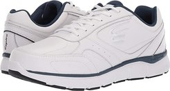 WaveWalker (White/Navy) Men's Walking Shoes