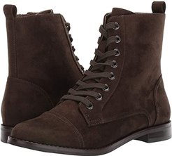 Prism (Green Fabric) Women's Lace-up Boots