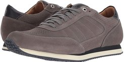 Aiden (Gray English Suede) Men's Flat Shoes