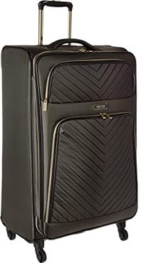 Chelsea - 28 Quilted Expandable 4-Wheel Upright Pullman (Olive) Luggage