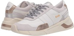Eclipse Trident (White/Gold/Silver) Women's Shoes