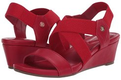 Isadora 2 (New Luxe Red/New Luxe Red) Women's Shoes