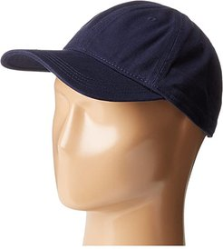 Croc Gabardine Cotton Cap (Navy Blue) Caps